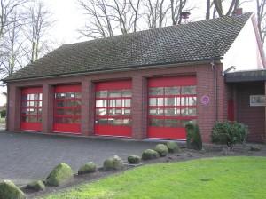 Das ehemalige Feuerwehrhaus auf dem Brink in Lastrup